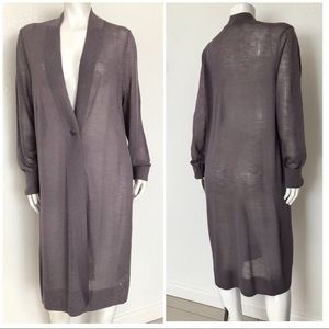 Soft Surroundings front button  Duster cardigan XL